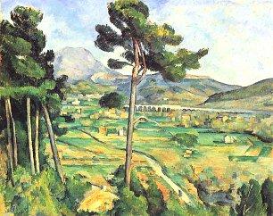 Paul Cezanne Montaigne Sainte Victoire 1 Wandbilder