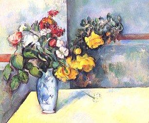 Paul Cezanne Stillleben Blumen in einer Vase Wandbilder