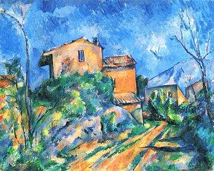 Paul Cezanne Stillleben Maison Maria am Weg zum Chateau Noir Wandbilder