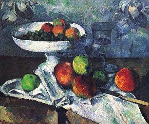 Paul Cezanne Stillleben mit Obstschale Wandbilder