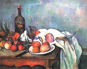 Paul Cezanne Stillleben mit Zwiebeln Wandbilder