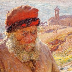 Emile-Claus-Ampelio-old-fisherman-of-Bordighera