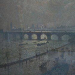 Emile-Claus-Waterloo-Bridge-sun-and-rain