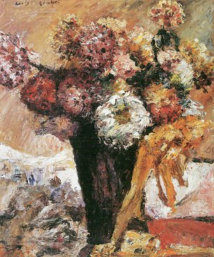 Lovis Corinth Chrysanthemen II Wandbild