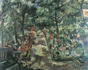 Lovis Corinth Garten in Berlin Westend