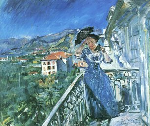 Lovis Corinth In Bordighera Wandbild