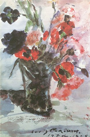 Lovis Corinth Konfirmationsblumen