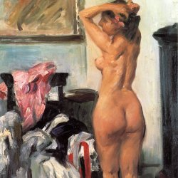 Lovis-Corinth-Modellpause