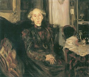 Lovis Corinth Portraet der Mutter Rosenhagen