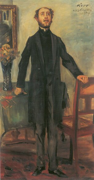 Lovis Corinth Portrait of Alfred Kerr