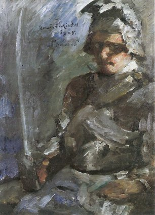 Lovis Corinth Thomas in Ruestung