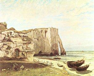 Gustave Courbet Die Kueste von Etretat Wandbilder