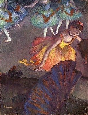 Edgar Degas Ballett von einer Loge aus gesehen Wandbilder
