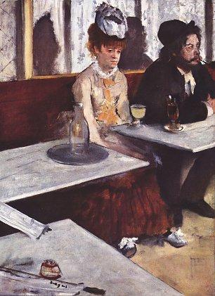 Edgar Degas Der Absinth Wandbilder