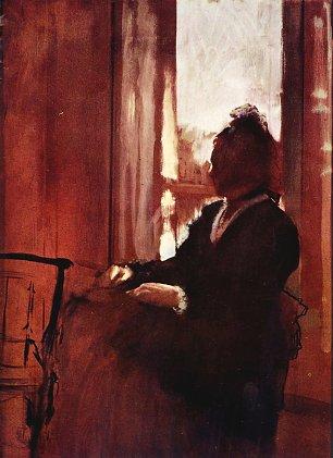 Edgar Degas Frau am Fenster Wandbilder
