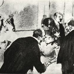 Edgar-Degas-Konversation-im-Foyer
