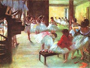 Edgar Degas Nach dem Bade Ballettschule Wandbilder