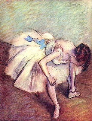Edgar Degas Taenzerin 2 Wandbilder