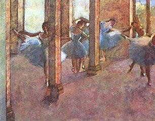 Edgar Degas Taenzerinnen im Foyer Wandbilder
