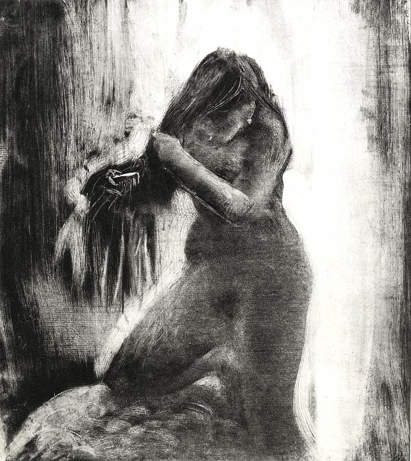 Edgar Degas Bilder auf Leinwand