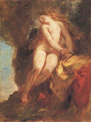 Eugene Delacroix Andromeda Wandbilder