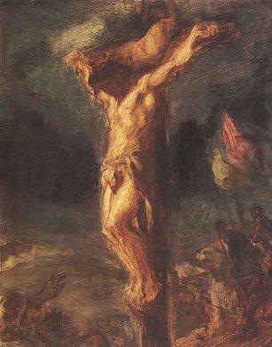 Eugene Delacroix Christus am Kreuz Wandbilder
