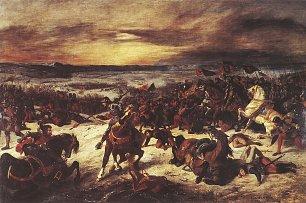 Eugene Delacroix Die Schlacht von Nancy Wandbilder