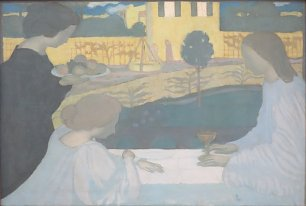 Maurice Denis Martha and Mary Wandbild