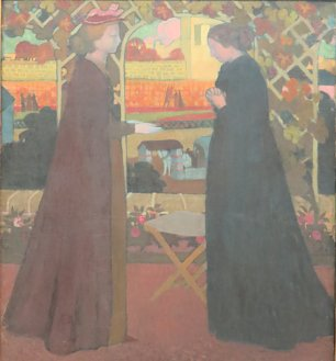 Maurice Denis The Visitation Wandbild