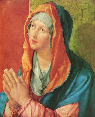 Albrecht Duerer Betende Maria Wandbilder