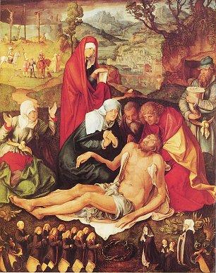 Albrecht Duerer Beweinung Christi 1 Wandbilder