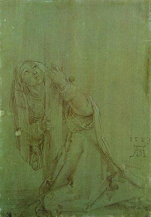 Albrecht Duerer Hl Magdalena unter dem Kreuz Wandbilder