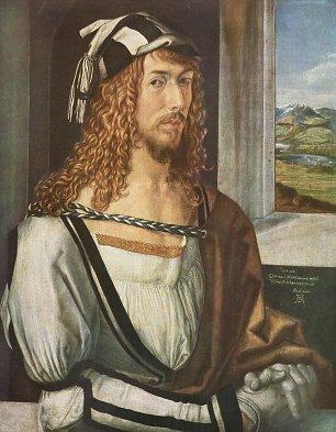 Albrecht Duerer Selbstportraet 1 Wandbilder