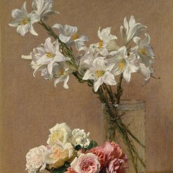 Henri-Fantin-Latour-Roses-and-Lilies