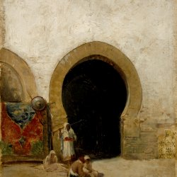 Maria-Fortuny-At-the-Gate-of-the-Seraglio