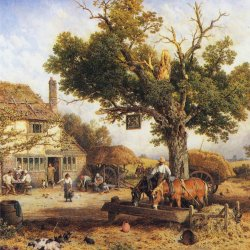 Myles-Birket-Foster-The-Country-Inn