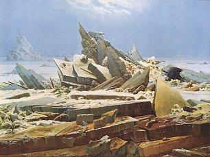 Caspar David Friedrich Das Eismeer Wandbilder