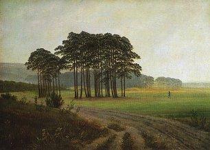 Caspar David Friedrich Der Mittag Wandbilder