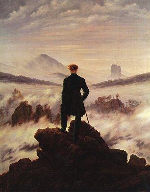 Caspar David Friedrich Der Wanderer ueber dem Nebelmeer Wandbilder