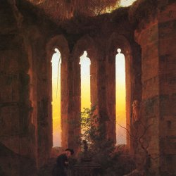 Caspar-David-Friedrich-Huttens-Grab