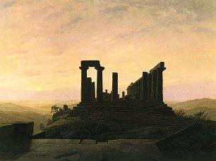 Caspar David Friedrich Junotempel in Agrigent Wandbilder