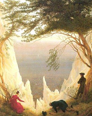 Caspar David Friedrich Kreidefelsen auf Ruegen Wandbilder