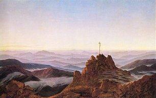 Caspar David Friedrich Morgen im Riesengebirge Wandbilder