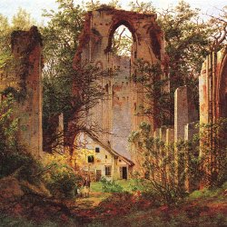 Caspar-David-Friedrich-Ruine-Eldena-1