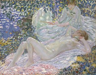 Frederick Carl Frieseke Pirouge