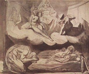 Johann Heinrich Fuessli Die Toechter des Pandareos Wandbilder