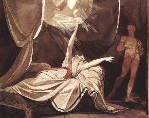 Johann Heinrich Fuessli Kriemhild sieht im Traum den toten Siegfried Wandbilder
