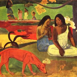 Paul-Gauguin-Arearea