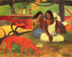 Paul Gauguin Arearea Wandbild