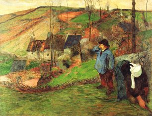 Paul Gauguin Bretonischer Schaefer